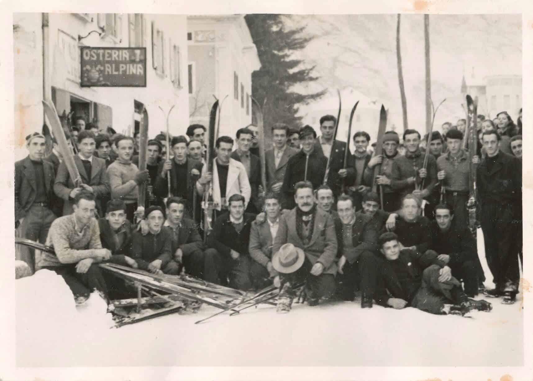 Ristorante Alpino Olivone 1941