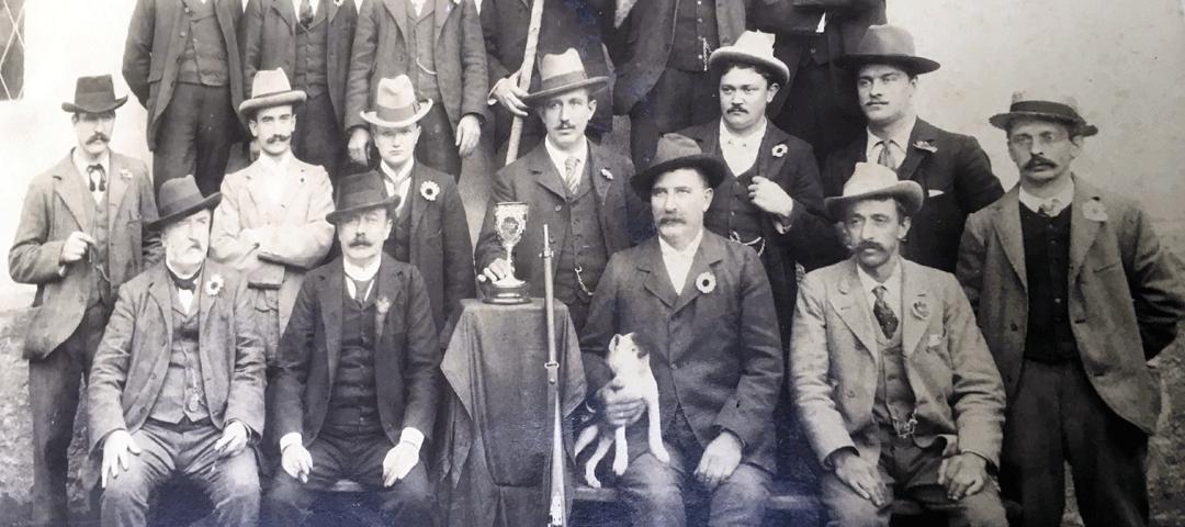 Tiratori del Brenno, Dongio, 1901