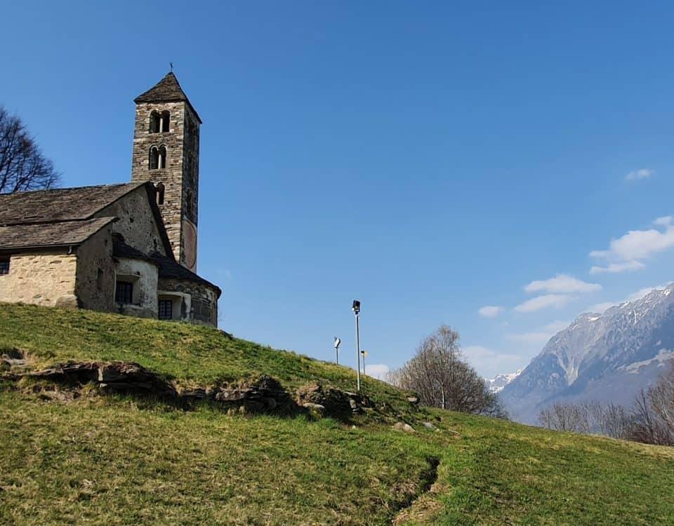 Vista dalla chiesa di San Carlo a Negrentino