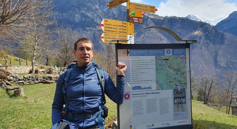 Sentiero storico 1, Nucleo di Navone