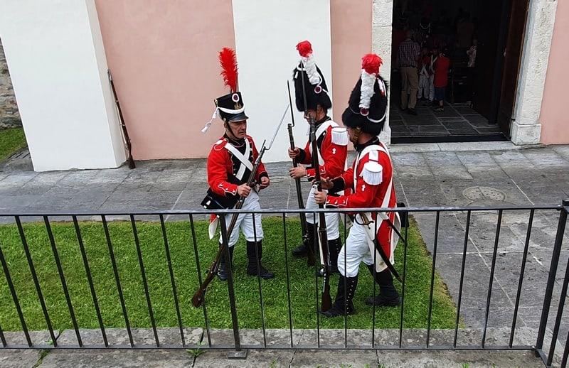 La Milizia Napoleonica di Leontica